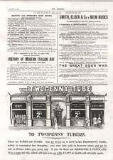 1900 The Twopenny Tube 2d To Any Station