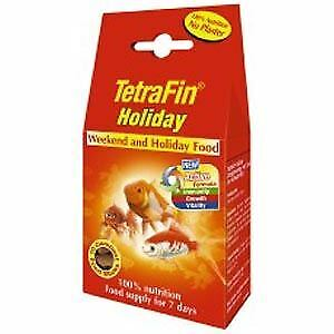 Tetra Goldfish Weekend Holiday Food 10Stk - 50655