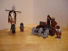 Lego Castle Dwarves' Mine Defender Set 7040 100% Complete With Instructions