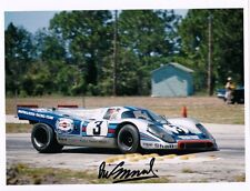 Martini Porsche 917K Sebring 12h.1971 ELFORD / LARROUSSE vICTORY Hand Signed