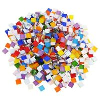 100g DIY Stained Glass Mosaic Tiles Wall Crafts Mixes Tool Kitchen 1X1cm Decals