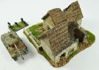 15mm Destroyed Farm House with lift off roof No. 1001
