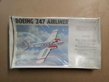 WILLIAMS BROS. 1:72 SCALE BOEING 247 AIRLINER PLANE MODEL KIT  COMPLETE BROTHERS
