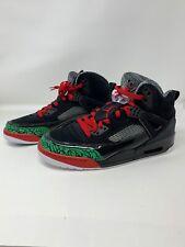 Air Jordan Spizike OG Black/Red Basketball Sneakers 315371-026 Men's Size 10