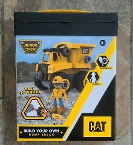 CAT Junior Crew Build Your Own Dumper Truck