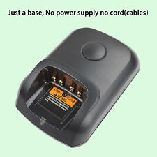 Only Base no power supply for Motorola DP3400 Walkie Talkie Battery Charger