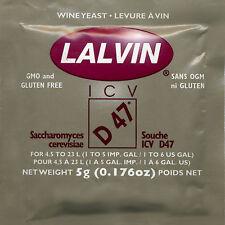 Lalvin ICV-D47 Wine Yeast, 5g