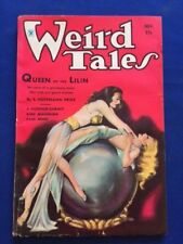 WEIRD TALES. NOVEMBER 1934 - FIRST EDITION  WITH ROBERT E. HOWARD CONAN STORY