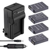 EN-EL12 Battery + Charger for Nikon Coolpix S6000 S6300 S8000 S8100 S9500 S9900