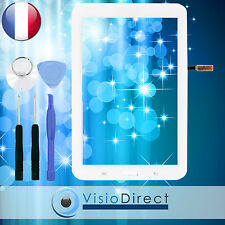 "Vitre ecran tactile pour Samsung Galaxy Tab 3 Lite 7.0"" T110 blanc + outils"