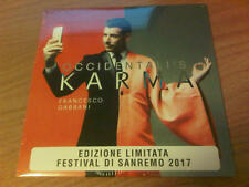 "7"" 45 GIRI FRANCESCO GABBANI OCCIDENTALI'S KARMA BMG 588270961 2017 PS SIGILLATO"