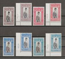EGYPT 1929 SG 178a/81a  MINT Cat £560