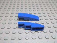 Lego 2 Bogensteine 4x1 blau   61678 Set 8404 9499 6753 9525