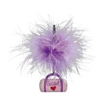 Girls Purple Dance Ballet Bag Fluffy Photo Clip Gift Christmas Katz Dancewear