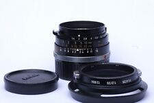Leica Summilux 35 mm f1.4 Black