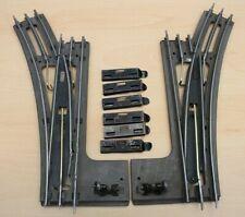 More details for vintage electric hornby o gauge 3 rail points espsr2 & espsl2, epl2/epr2 #3