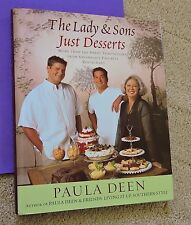 SAVANNAH RESTAURANT DESSERT COOKBOOK The Lady & Sons HARDBACK/DJ Paula Deen