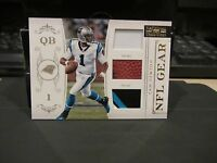 National Treasures Rookie NFL Gear Prime Jersey Panthers Cam Newton 48/49  2011