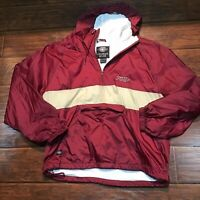 vintage charles river Florida State seminoles 1/4 zip pullover size XL