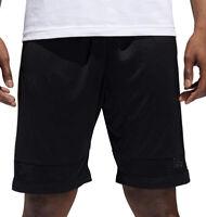adidas Mens Pro Bounce Basketball Shorts Color Black/Gold Basketball Size 2XL