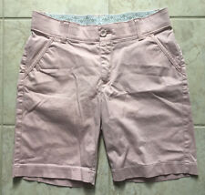 Womans Petite Shorts Sz 10 P Light Pink Bermuda LEE No Gap Waistband