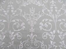 Sanderson Curtain Fabric 'Melisande' 1 METRE Ivory/Eau de Nil Embroidered Linen