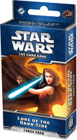 Star Wars The Card Game - Lure Of The Dark Side Force Pack - New