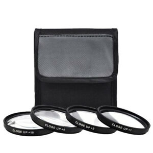 77mm 4 Piece High Definition Close-Up Macro Lens Filter Set