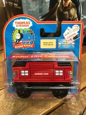 NEW THOMAS & FRIENDS WOODEN RAILWAY SODOR LINE CABOOSE
