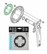 Shimano SLX FC M675 10-Speed Chainring 24 Teeth (AM) 64 mm 4 Bolt (38-24) crank