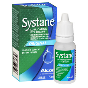 Systane Lubricating Eye Drops Original 15mL Soothing Comfort Dry Eye Therapy