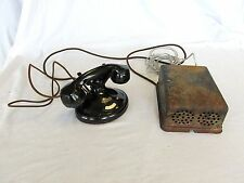 Antique Phone 1177-A Philco Cradle Phone with 1156-A Ringer  #0730A