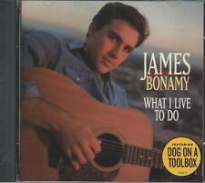 Music CD James Bonamy What I Live To Do