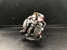 Warhammer 40k Space Marines Converted Captain White Scars Fully Painted