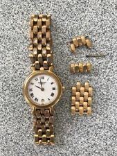 Raymond Weil - Gold plated Ladies Swiss Quartz DateWatch 9937-2