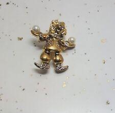 Pin Jewelry 3031457 Elegant Fashion Clown Brooch