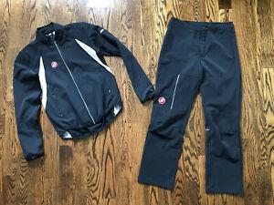 CASTELLI Warm-Up Jacket / Pants SIZE MEDIUM