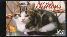 Gibraltar Scott #726 kittens - Stamp Booklet - MNH