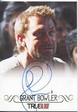 True Blood Archives Autograph Card Grant Bowler