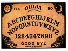 OUIJA BOARD VINYL STICKER HORROR GOTH HALLOWEEN OCCULT WITCHCRAFT SATANIC A6SIZE