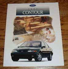 Original 1997 Ford Contour Sales Brochure 97 GL LX SE
