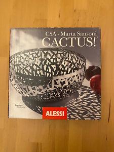 Vintage ALESSI 'Cactus' Fruit Bowl,Designed by M Sansoni  in 2002