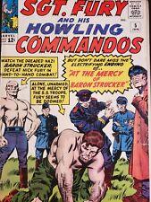 Sgt Fury and His Howling Commandos 5  Marvel Comics 1st Baron Von Strucker