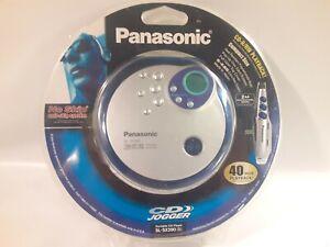 Panasonic SL-SX390 Portable CD Player w Headphones Remote Control 48 s anti-skip