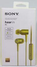 Sony MDR-EX750NAY H.Oreillette en Nc,In-Ear Casque Audio ,Jaune - Neuf & Ovp