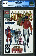 New Mutants #99 (Marvel 3/91) CGC 9.6 White! 1st App Feral, 1st App Shatterstar