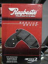 BRAND NEW RAYBESTOS FRONT BRAKE PADS SGD642M / D642 FITS VEHICLES ON CHART