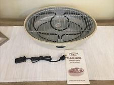 VTG DAZEY bar-b-grill smokeless indoor electric broiler DSG-130 Never Used 1989