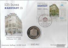 Rostock (Privat) Mi.-nr.: Block 1 der Ostsee-Post auf Numisbrief FDC 2006 125 Ja