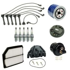 Ignition Tune Up Kit Filters Cap Rotor Spark Plugs Wire For Acura Vigor L5 2.5